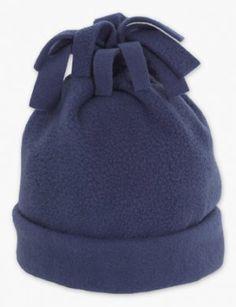 Fleece Hat, simple one seam