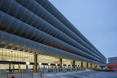 Bus Station in Preston by John Puttick Associates