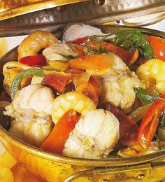 Low Carb Recipes, Healthy Recipes, Fish Stew, Portuguese Recipes, Portuguese Food, Spanish Food, Vintage Recipes, Fish And Seafood, International Recipes