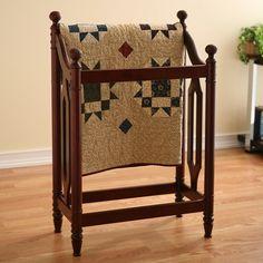 Classic Cherry Blanket/ Quilt Rack