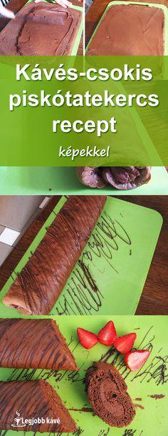 #recept #piskótatekercs #desszert #sütemény Carrots, Cakes, Vegetables, Food, Cake Makers, Kuchen, Essen, Carrot, Cake
