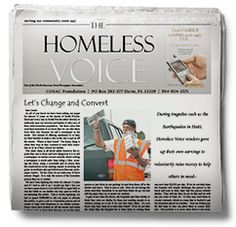 The Homeless Voice: Hollywood, Florida, U.S