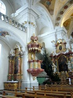 Pulpit @ St. Mark's in The Black Forest, Germany