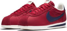 Nike Classic Cortez Nylon OG GYM RED /WHITE 844855-640 all sizes uk New trainers #Nike #Trainers