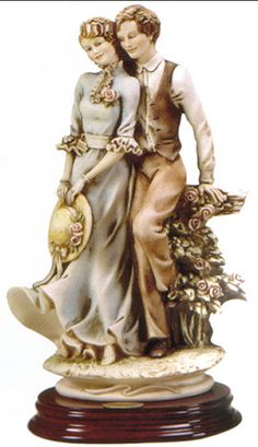 "GIUSEPPE ARMANI FLORENCE FIGURINE - ""TOGETHER"" - 888C****THIS ITEM IS ALSO SOLD IN WHITE****    Brand: Armani   J105-888-C"