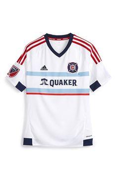 92886b9f396 adidas  Chicago Fire  CLIMALITE® Away Soccer Jersey (Big Boys)