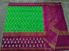 Ikkat Silk