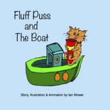 Fluff Puss and the Boat by Ian Mower
