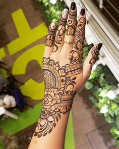New Henna Designs Trends for Hands 2019