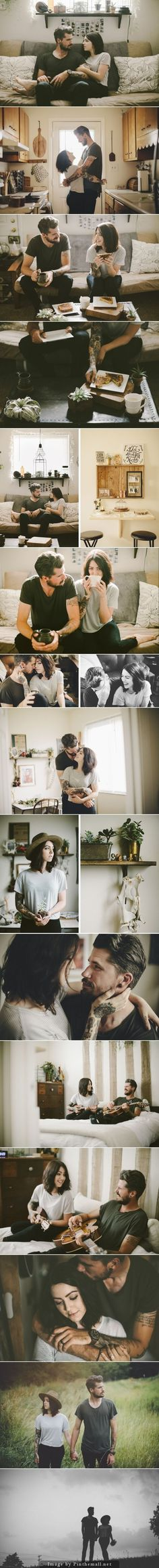 Peek into the life of. Couple portraits that capture the story of them.
