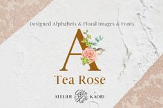 Bring your creative projects to life with over 3 million unique fonts, graphics, themes, photos, and templates designed by independent creators around the world. Image Font, Watercolor Rose, Tea Roses, Textile Design, Flyer Design, Spoonflower, Alphabet, The Creator, Clip Art