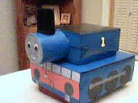 We have to make a shoebox float for school, and Jackson wants a Thomas the Train one. I am going to do a verson of this. Hope it works out!