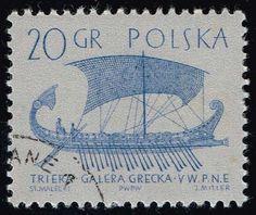 Poland #1126 Greek Trireme; CTO (0.25)