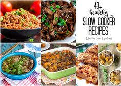 Meet my favorite time-saving kitchen hack: the slow cooker. And 40+ healthy slow cooker recipes to keep you busy all winter long. All gluten free and paleo.