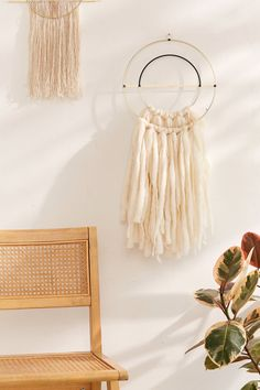 Segmented Shapes Wall Hanging   Urban Outfitters