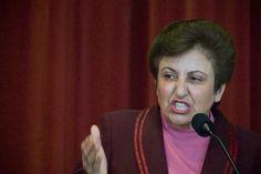 Shirin Ebadi    Premio Nobel de la Paz 2003.    Fue la primera ciudadana iraní y la primera mujer musulmana en recibir este premio. Es una abogada y activista por los derechos humanos y por la democracia. Fue forzada a renunciar a su cargo de jueza, debido a la nueva prohibición a la mujer para ocupar este cargo. No toleró la situación y se dedicó a luchar por los derechos de las mujeres, niños y presos ideológicos en Irán.