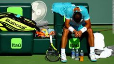 Ailing Rafael Nadal feels the heat in Miami #RafaelNadal... #RafaelNadal: Ailing Rafael Nadal feels the heat in Miami… #RafaelNadal