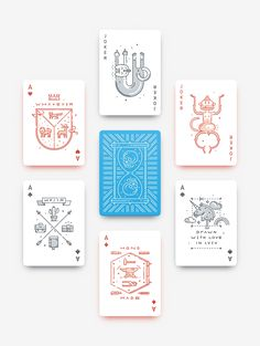 Hipsteria Playing Cards
