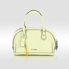 Cromia pistache leather bag