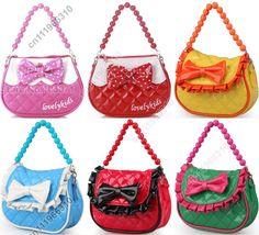 Fashion Little Girl Baby Kid Child Handbag Tote Shoulder Messenger Sling Bag Satchel Purse Wallet Pack Outdoor Party Toy(China (Mainland))