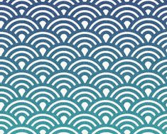 motif japonais en forme de vagues , seigaiha