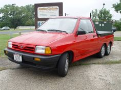 Are you looking for a small pick-up / utility vehicle that is very handy and gets LOTS OF ATTENTION ? This Ford Festiva is locally owned (last 13 years / previous owned, customized by Ford dealer in...