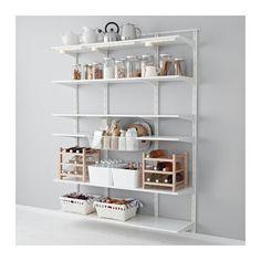 IKEA pantry organization Algot