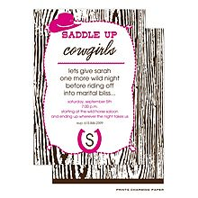 Cowgirl Invitations from RockPaperScissors