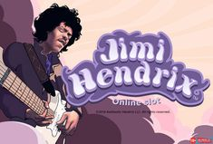 If you don't know who Jimi Hendrix is then it is about time you get a Jimi-cation! Check out our Jimi Hendrix online slot revew and try the game out for free now! Top Casino, Vegas Casino, Casino Sites, Best Casino, Play Slots, Online Casino Bonus, Play Online, Jimi Hendrix, Slot Machine