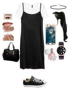 """""""Hello My 20's👋🏽👋🏽👋🏽"""" by babycomics ❤ liked on Polyvore featuring Converse, Miss Selfridge, GABALNARA and Casetify"""