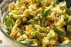 Thai Curry Pasta Salad QWMHD  JSW-take curry one tbsp at time to taste, used whole package of pasta, extra yogurt, salt