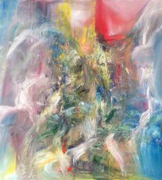 Oil on canvas by Britt Boutros Ghali