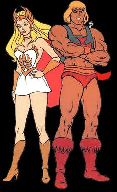 He-man and Shera