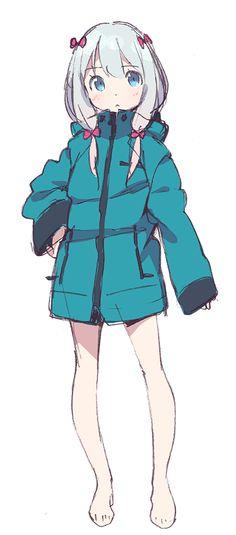 """Eromanga Sensei"" Anime Visual Published With Broadcast Network Plans"