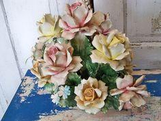 Collectible Italian Capodimonte porcelain by AnitaSperoDesign, $155.00