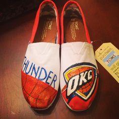 Custom OKC Thunder Toms