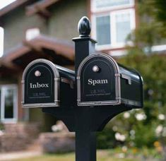 Home decorating with a creative mail box is a fun project that can add character to your front yard landscaping