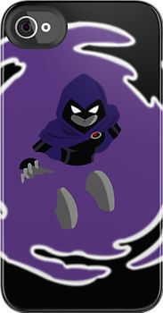 Teen Titans - Raven breaks through by MonkeyLi. I totally want this for my phone too cool!!!!!!!!!!!!!!!