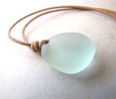 Seashell Necklace, Sea Shell Necklace, Seaglass Necklace, Sea Glass Necklace…