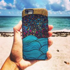 Whimsical Ocean Art Phone Case for iPhone 5 5c by PomGraphicDesign