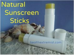 How to Make Sunscreen Sticks Naturally - Health Extremist