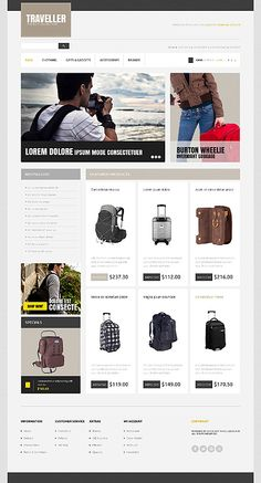 OpenCart #template // Regular price: $90 // Unique price: $2500 // Sources available: .PSD, .PNG, .PHP, .TPL, .JS #Travel #OpenCart #shop #store