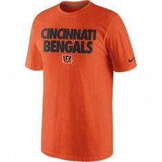 Cincinnati Bengals Nike NFL Foundation T-Shirt (Orange)
