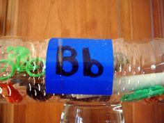 Letter Bottles