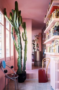 Surprisingly Inspired Pink Interiors | COCOCOZY Home Decor Styles, Cheap Home Decor, Home Decor Accessories, Home Decoration, Decorations, Pierre Frey, Wall Colors, House Colors, Pink Hallway