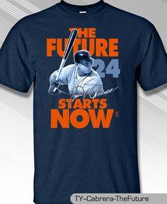 MIGUEL CABRERA, DETROIT TIGERS FUTURE IS NOW Shirt #MLBPA #DetroitTigers