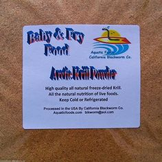 LOOK:  AFB Arctic Krill Powder Fry  Baby Food