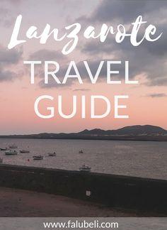 Ein Travel Guide für die schönste Kanarische Insel Lanzarote. Entdecke endlose Strände, wundervolle Küstenstädte und Wanderungen durch Mondlandschaften. Jetzt auf WWW.FALUBELI.COM Canary Islands, Spain Travel, Cool Places To Visit, Travel Guide, The Good Place, Beach, Water, Outdoor, Strand