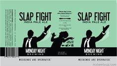 mybeerbuzz.com - Bringing Good Beers & Good People Together...: Monday Night Brewing - Slap Fight IPA