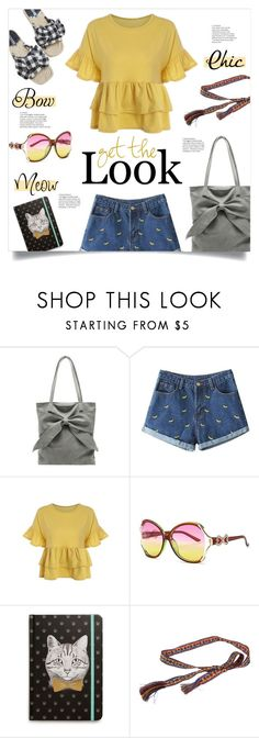"""Sunny Top"" by mahafromkailash ❤ liked on Polyvore featuring Tri-coastal Design"